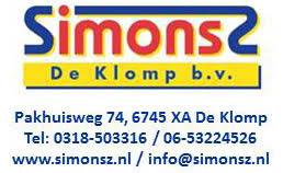 Logo Simonsz De Klomp B.V.